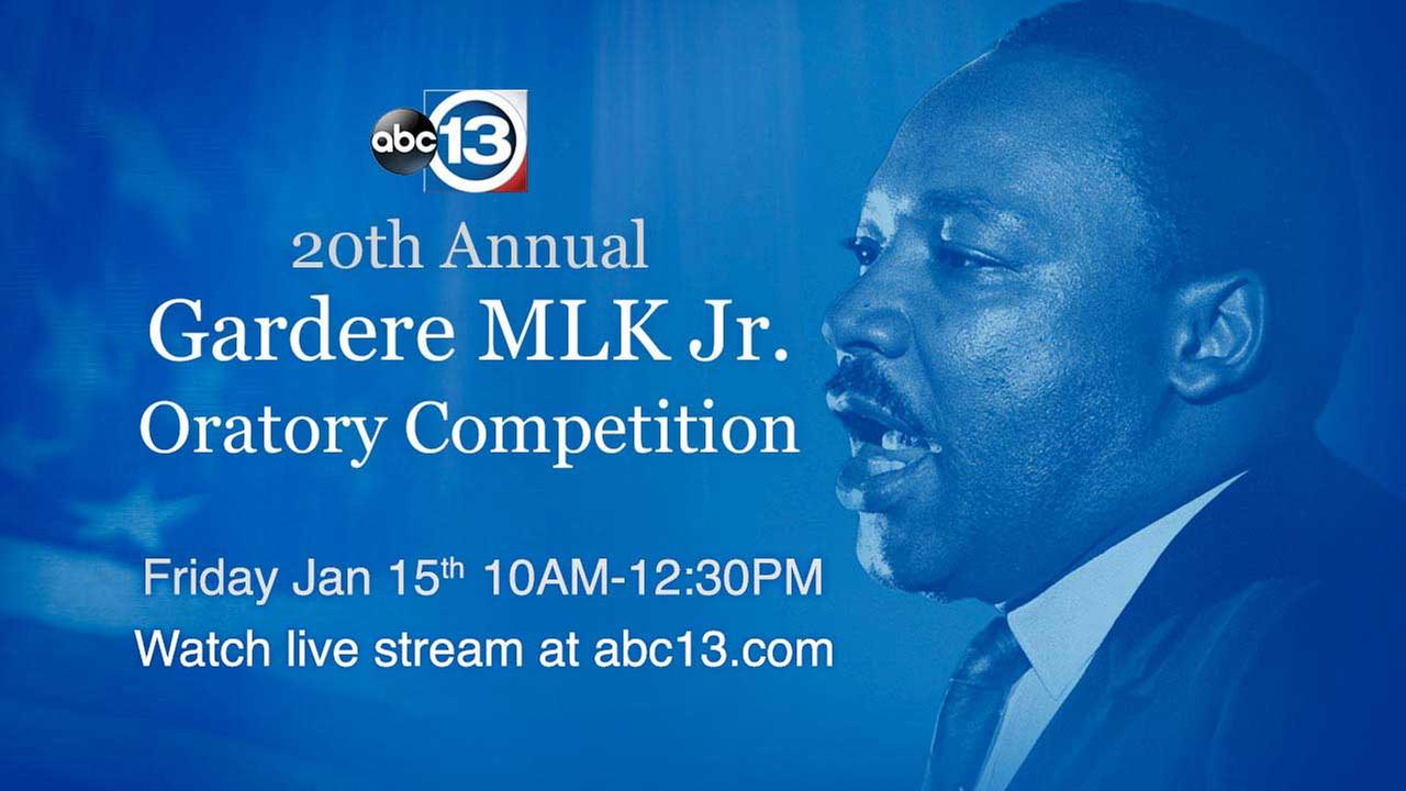Houston elementary school students channel inner-MLK