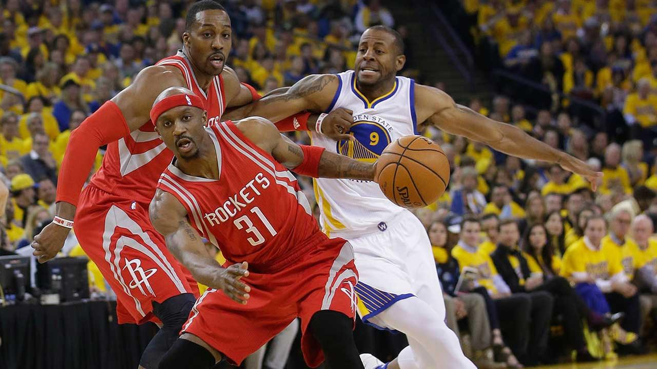Rockets' season ends with blowout loss to Golden State