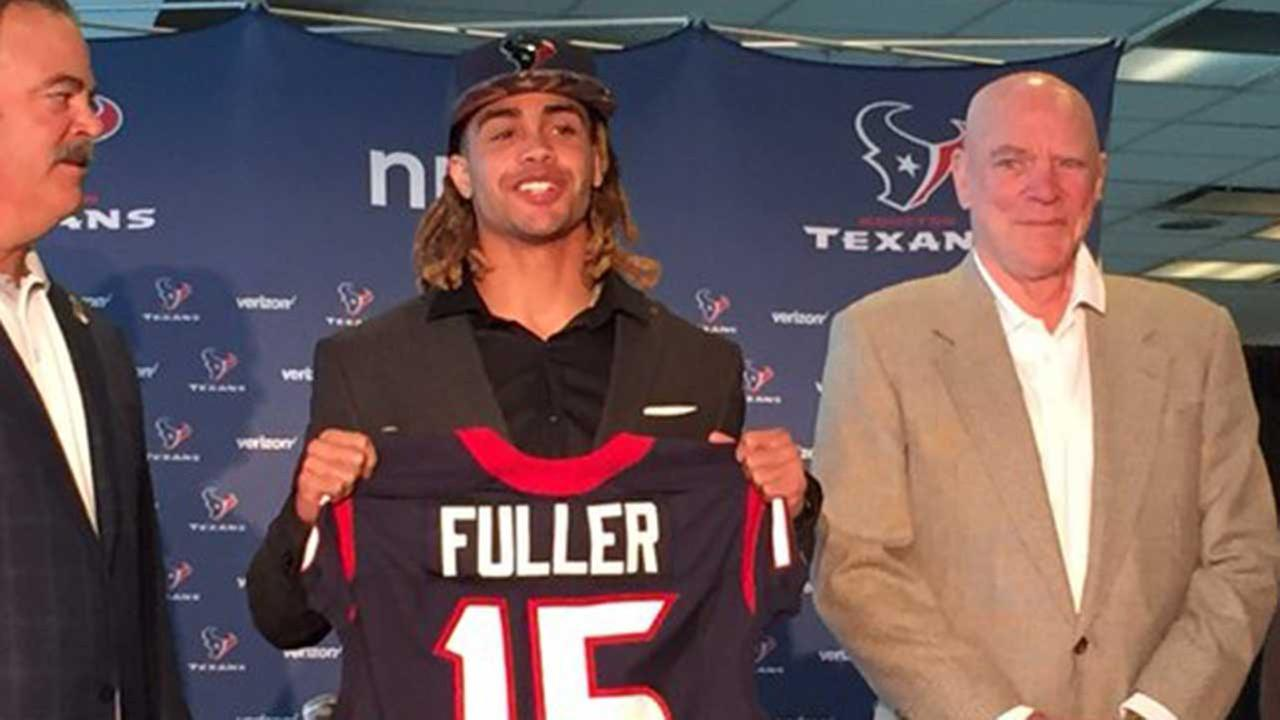 WATCH LIVE: Texans introduce first-round pick Will Fuller