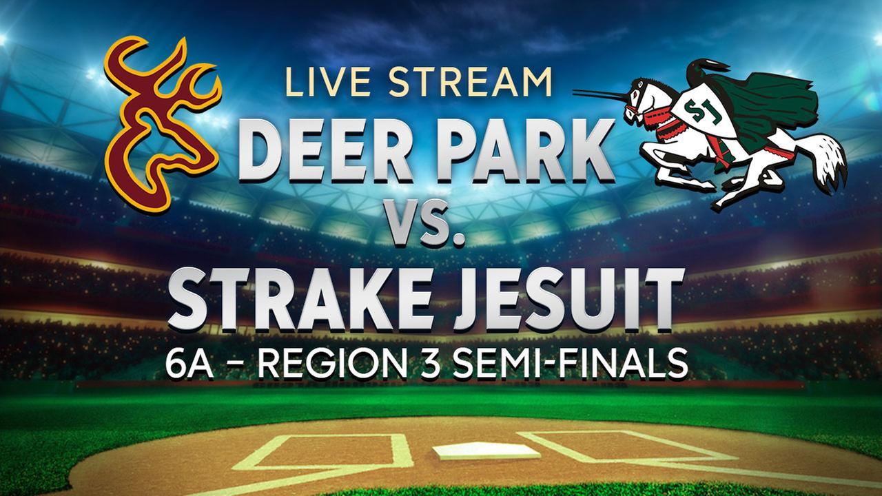 WATCH LIVE: Deer Park vs. Strake Jesuit HS baseball playoffs