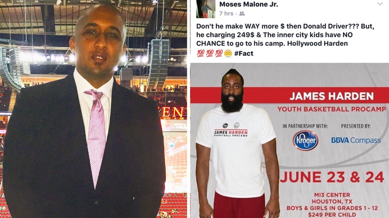 NBA player's son attacked, robbed outside Houston club