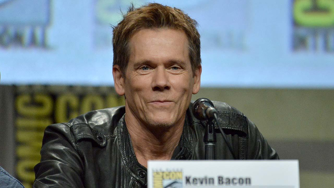Kevin Bacon attends The Following special video presentation and Q&A on Day 4 of Comic-Con International on Sunday, July 27, 2014, in San Diego