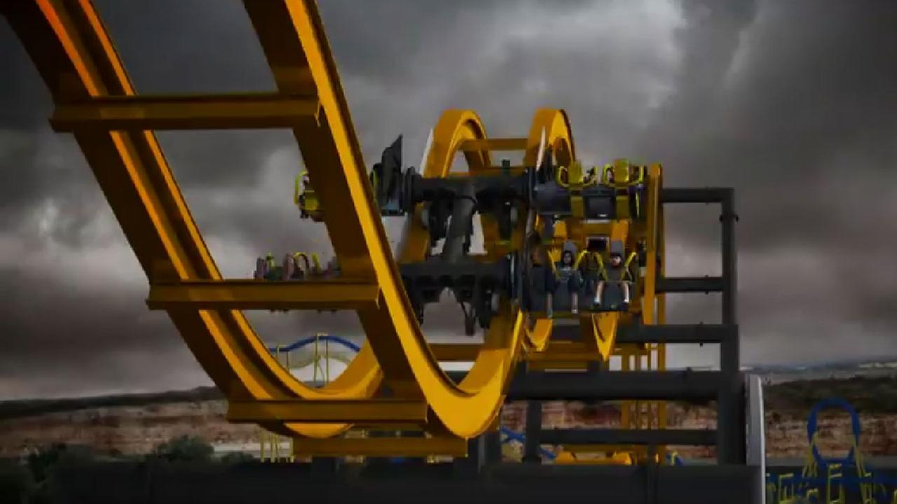 '4D Free Fly' roller coaster coming to Texas theme park