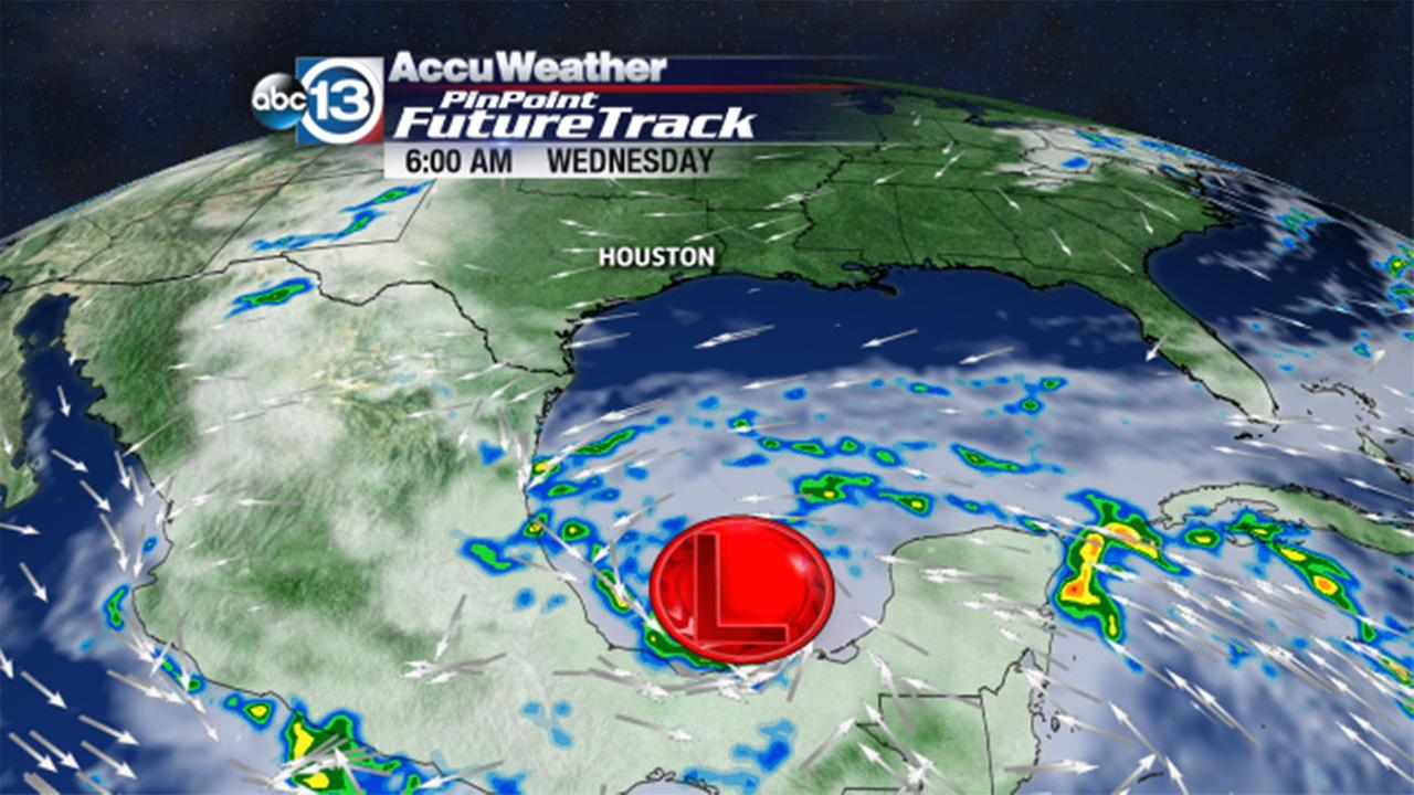 Potential tropical weather in Gulf not headed for Houston