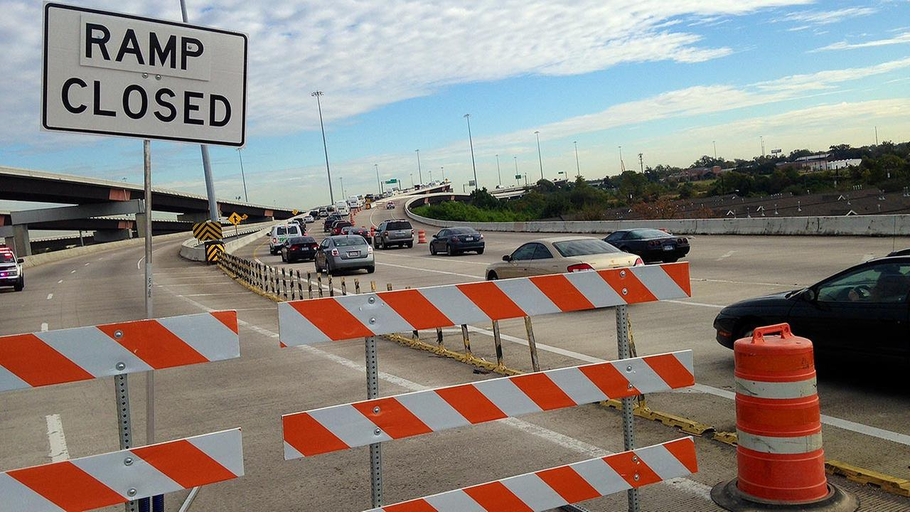 Portion of the Hardy Toll Road closed this weekend