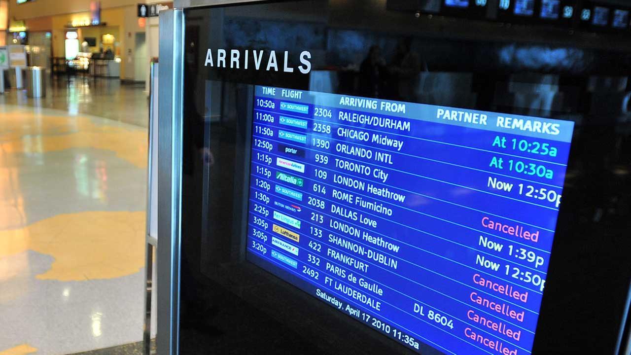 AP file image of Bostons Logan Airport