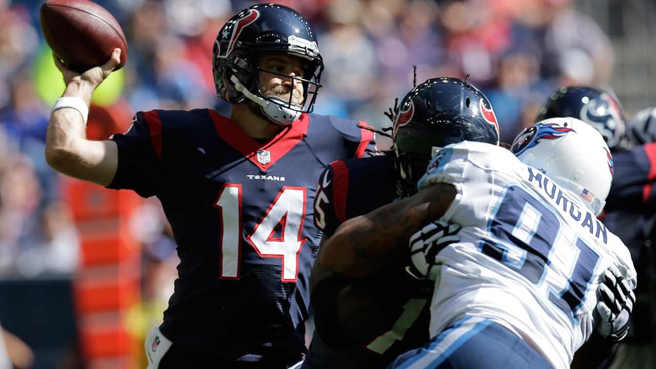 ESPN: Texans trade QB Fitzpatrick to Jets