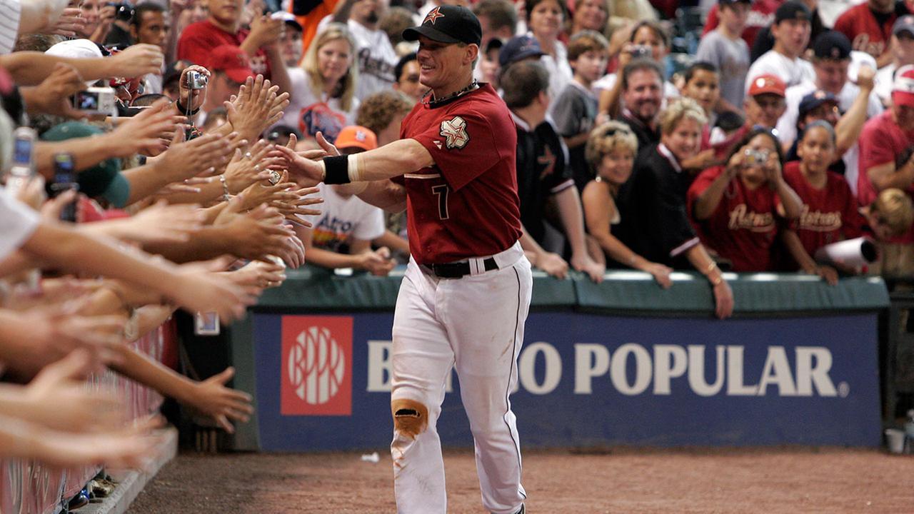 Craig Biggio was selected to the National Baseball Hall of Fame on Tuesday