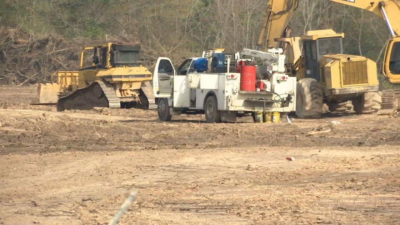 NE Harris County community voices concerns over nearby sandpit