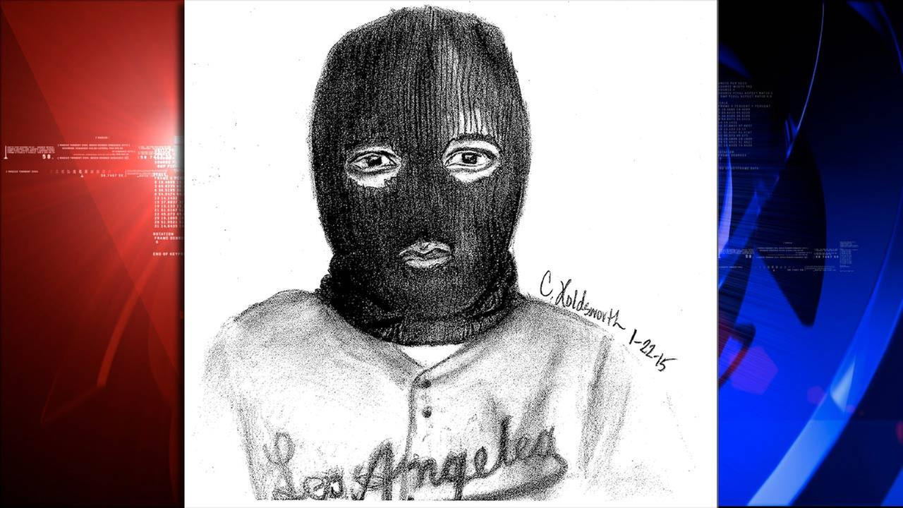 Texas police release somewhat cryptic sketch of aggravated robbery suspect