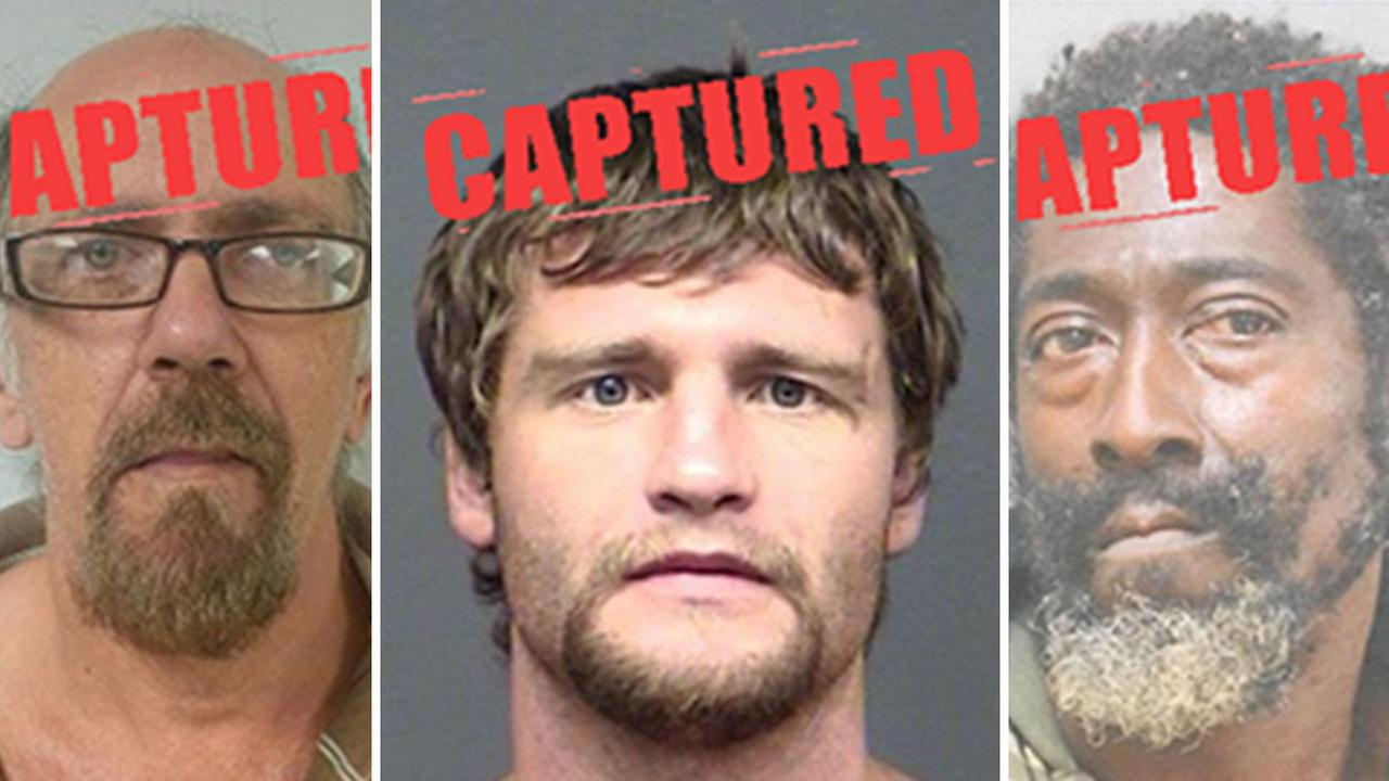 3 men among Texas most-wanted sex offenders arrested