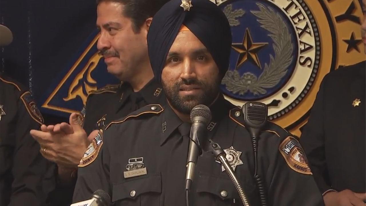 Harris Co. deputy to serve with turban and beard