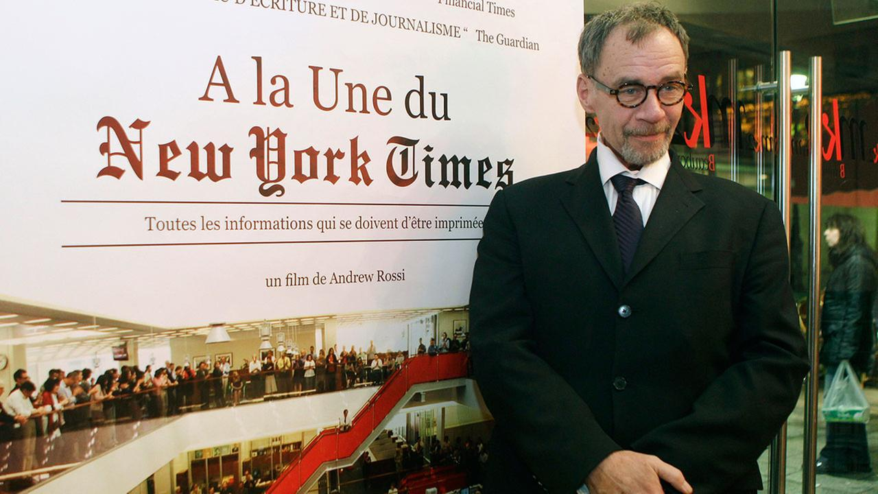 New York Times journalist David Carr