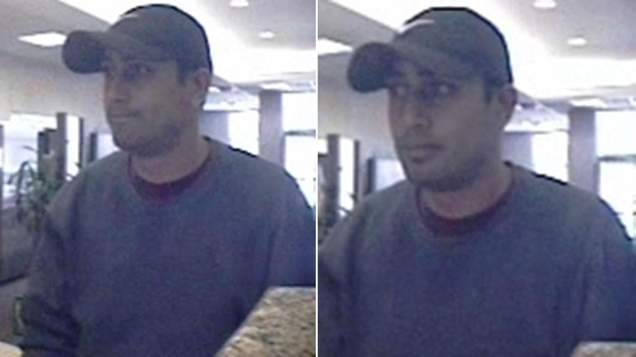 Know this guy? FBI releases clear photos of bank robbery suspect