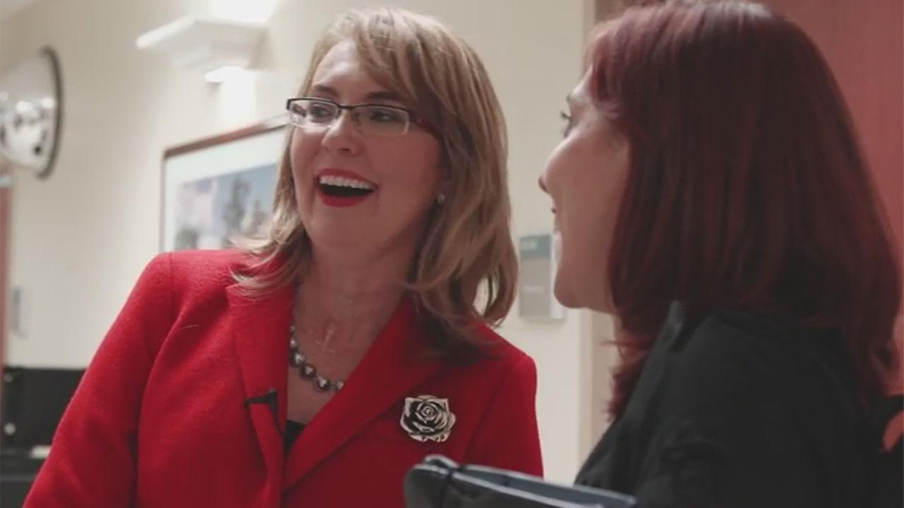 VIDEO: Four years later, Gabby Giffords reunites with TIRR staff