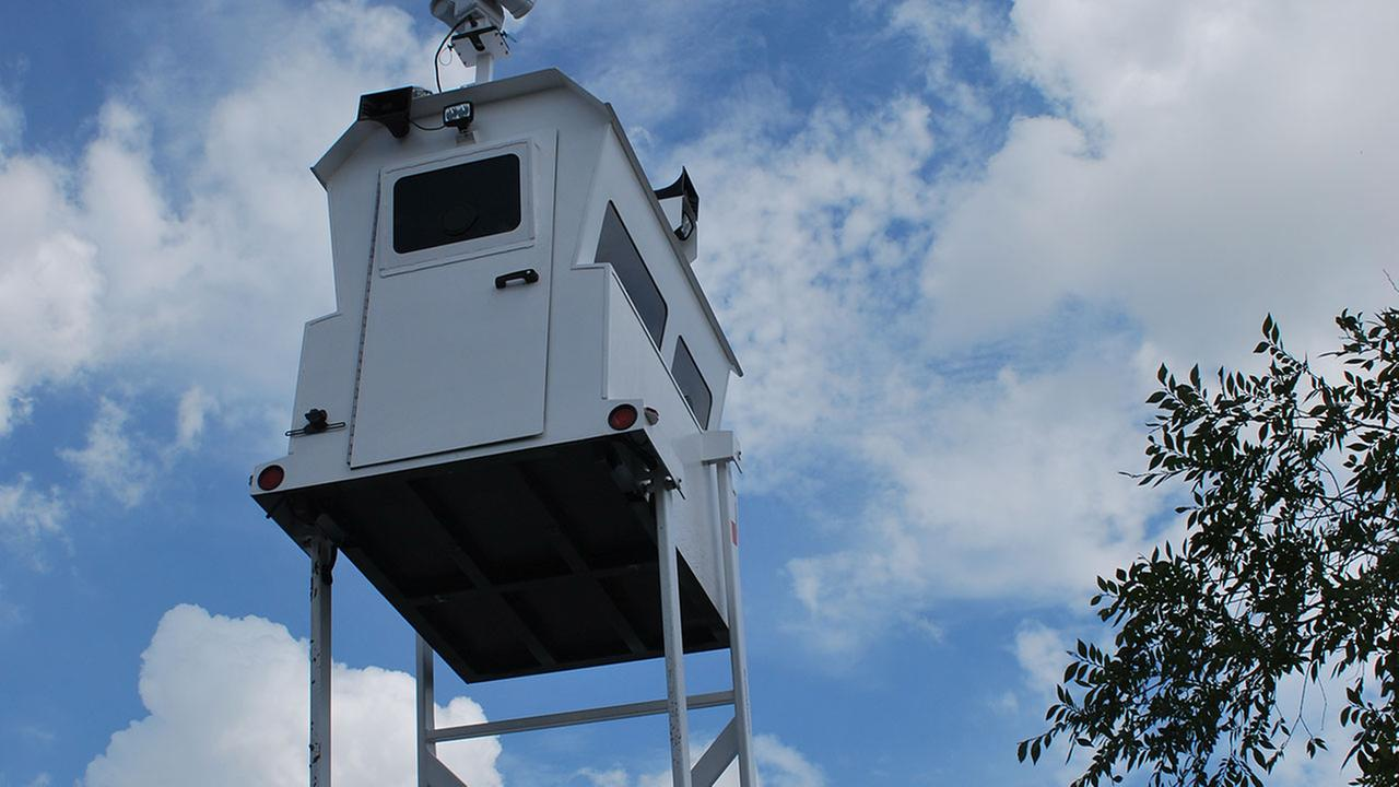 Skywatch tower helping HCSO keep watchful eye on parked cars at Rodeo Houston