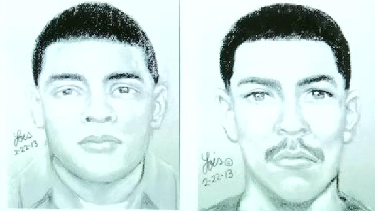 Police release sketches of two men accused of raping special needs girl