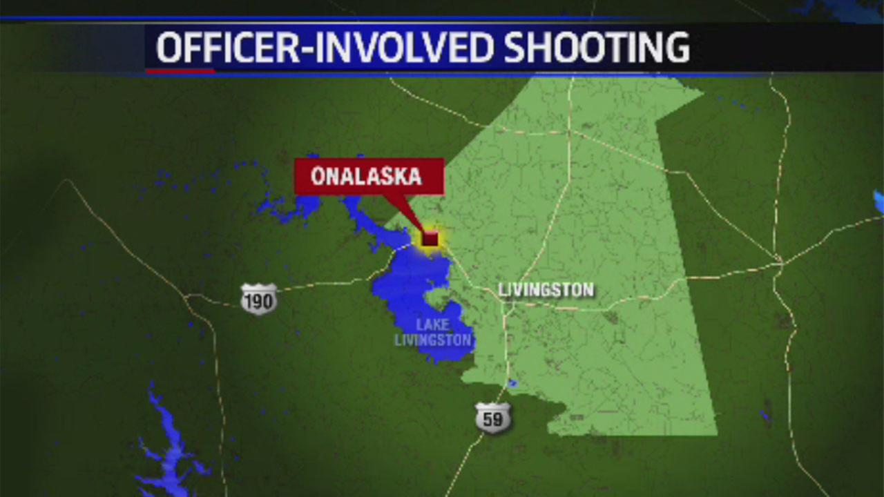 Officer shoots armed suspect at gas station in Polk County