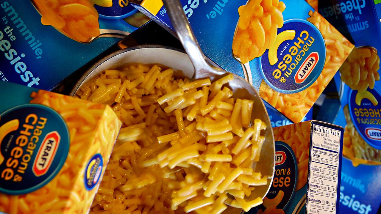 Kraft issues recall for 6.5 million Macaroni and Cheese box dinners