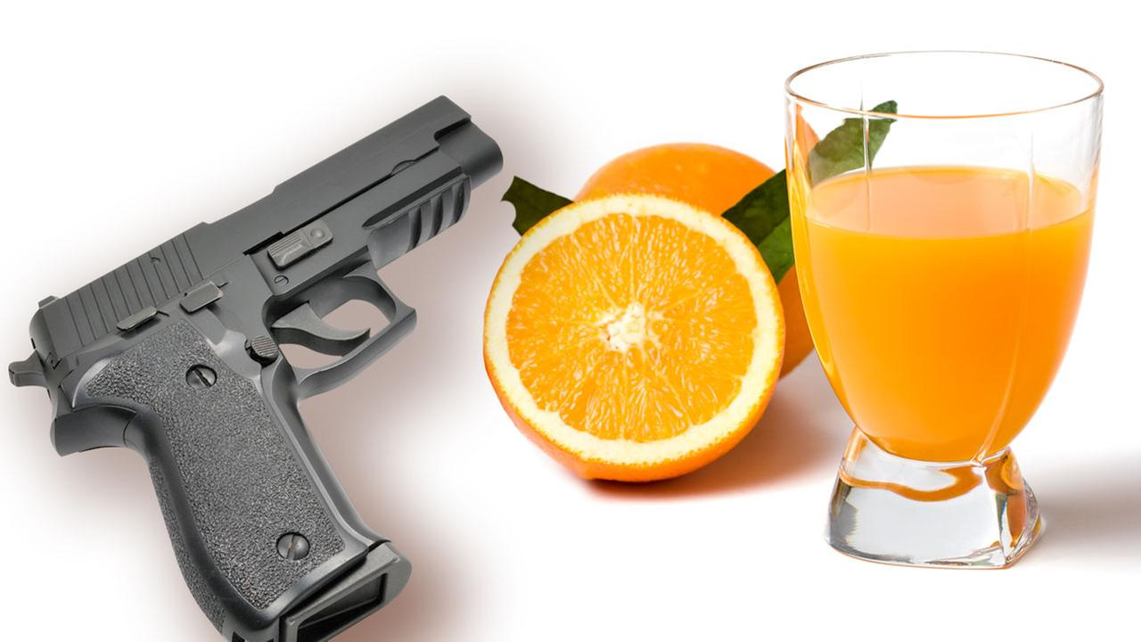 Police: Father shoots son after orange juice runs out