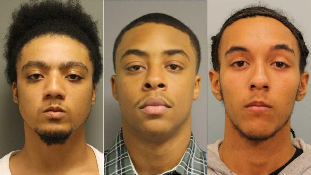 Aaron Michael Blay, 22; Andrew L. Jordon, 18; and Demetrice Green, 18