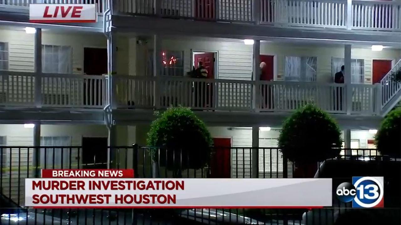 Police investigating murder at southwest Houston hotel