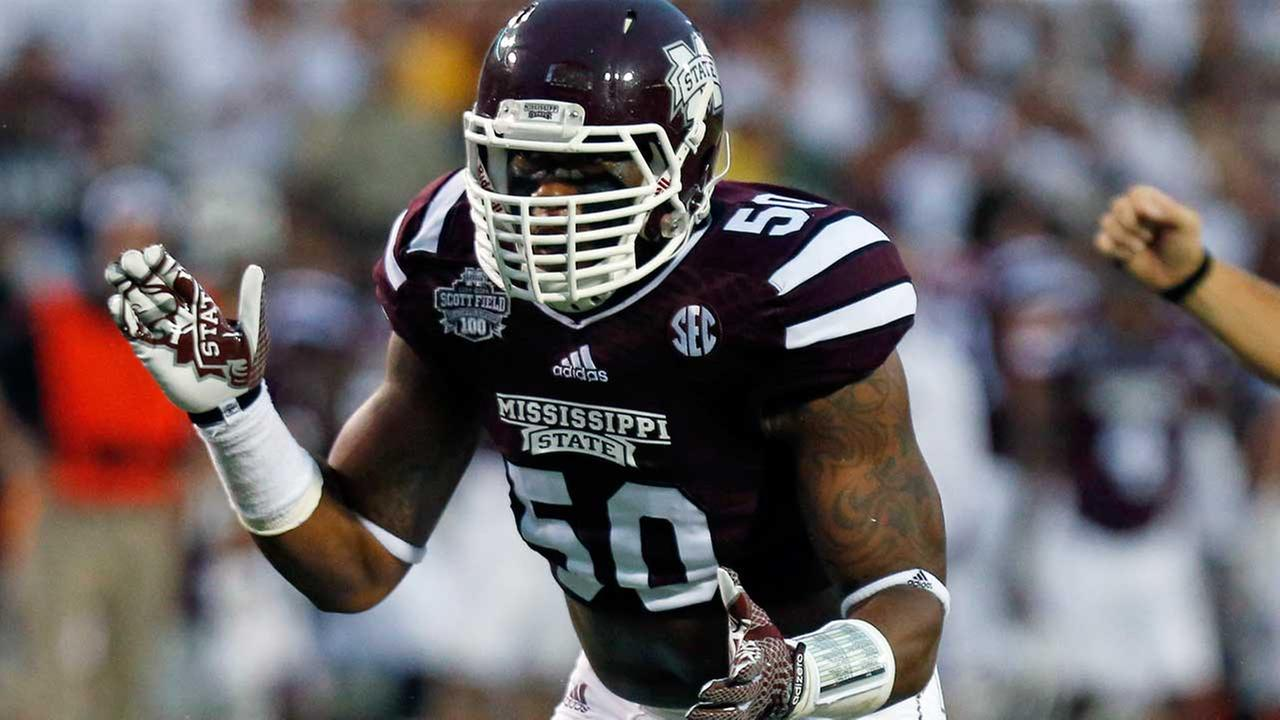 Texans trade up to make ILB McKinney second-round pick