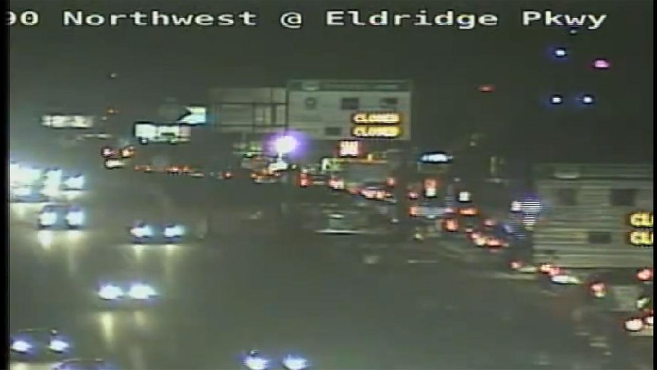 Highway 290 at Eldridge wreck delays scheduled road closure