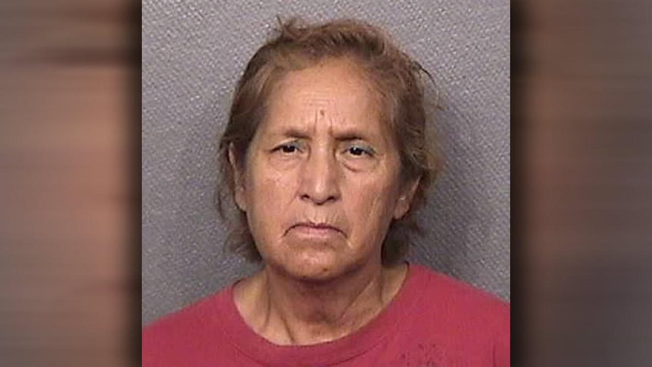 Grandmother accused of burning girl with hot pan