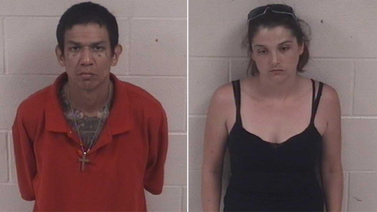 Gilbert Carrasco, 40, and Barbra Helms, 28, are charged with possession of a controlled substance