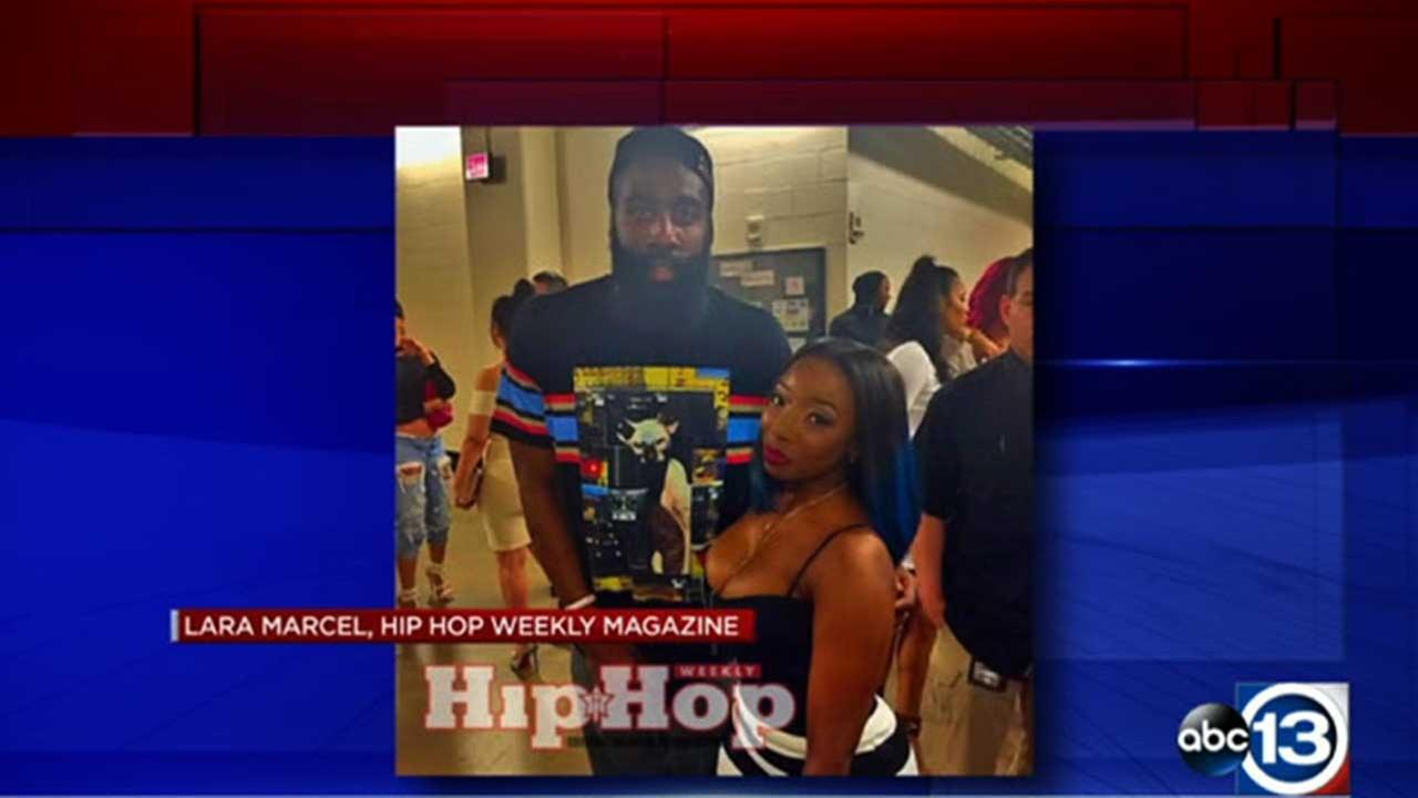 James Harden takes heat for photo at Drake concert