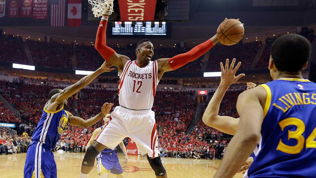 Harden helps Rockets stay alive, beat Warriors 128-115