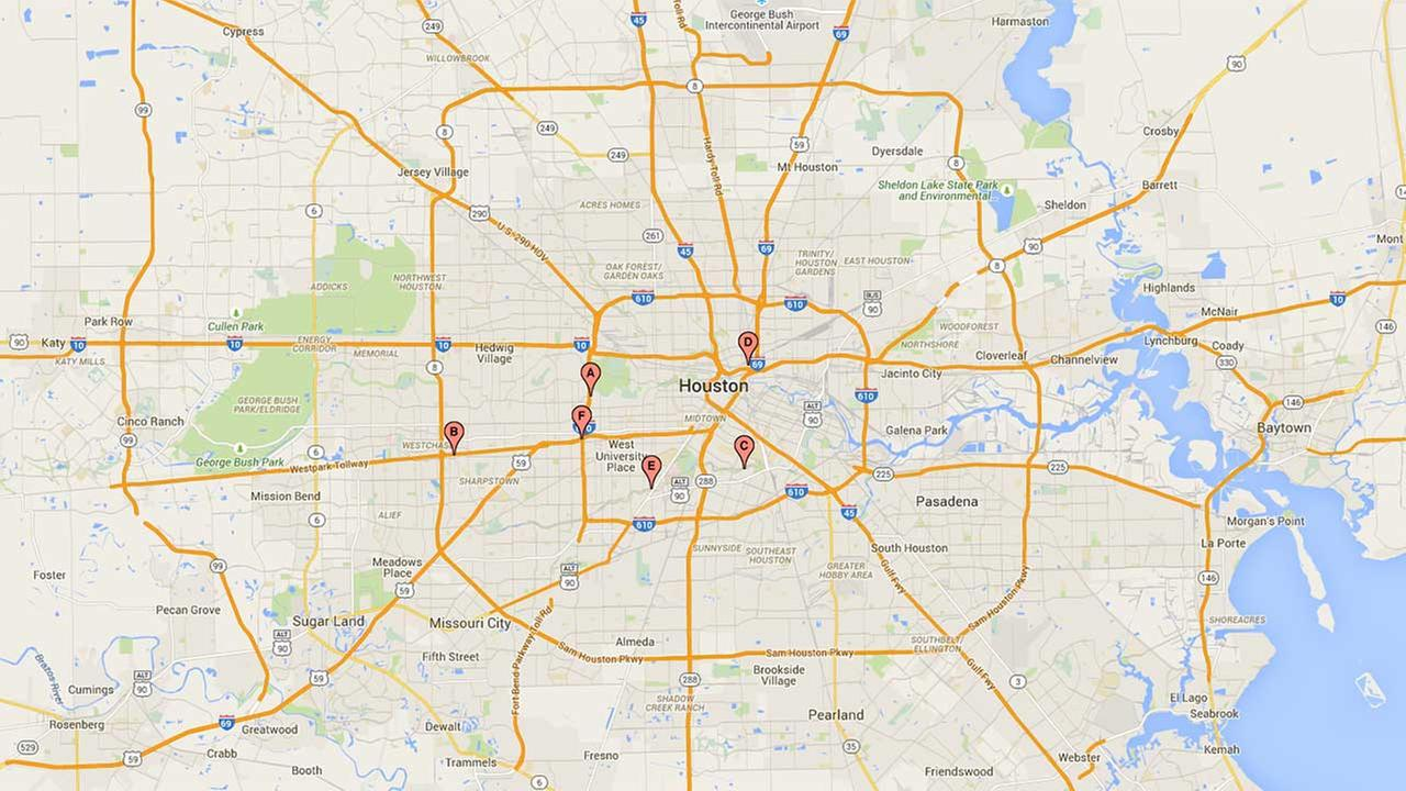 Flood-related deaths in Harris County