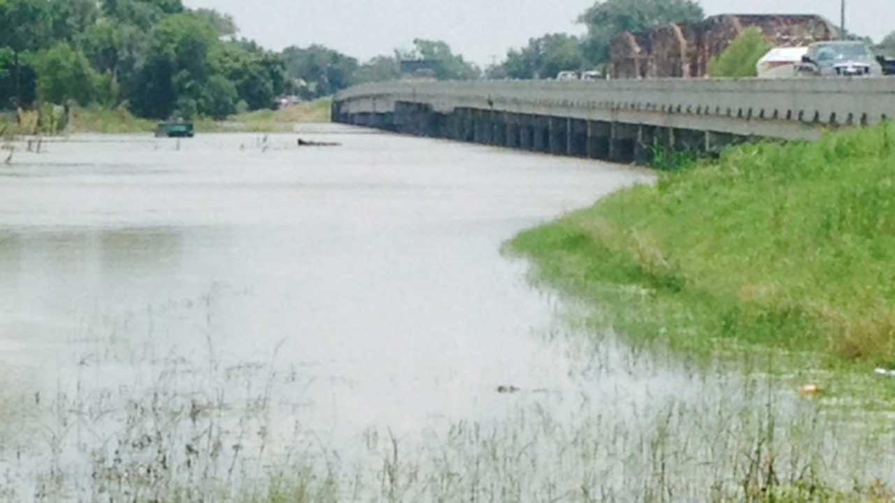 Parts of Liberty County remain under water