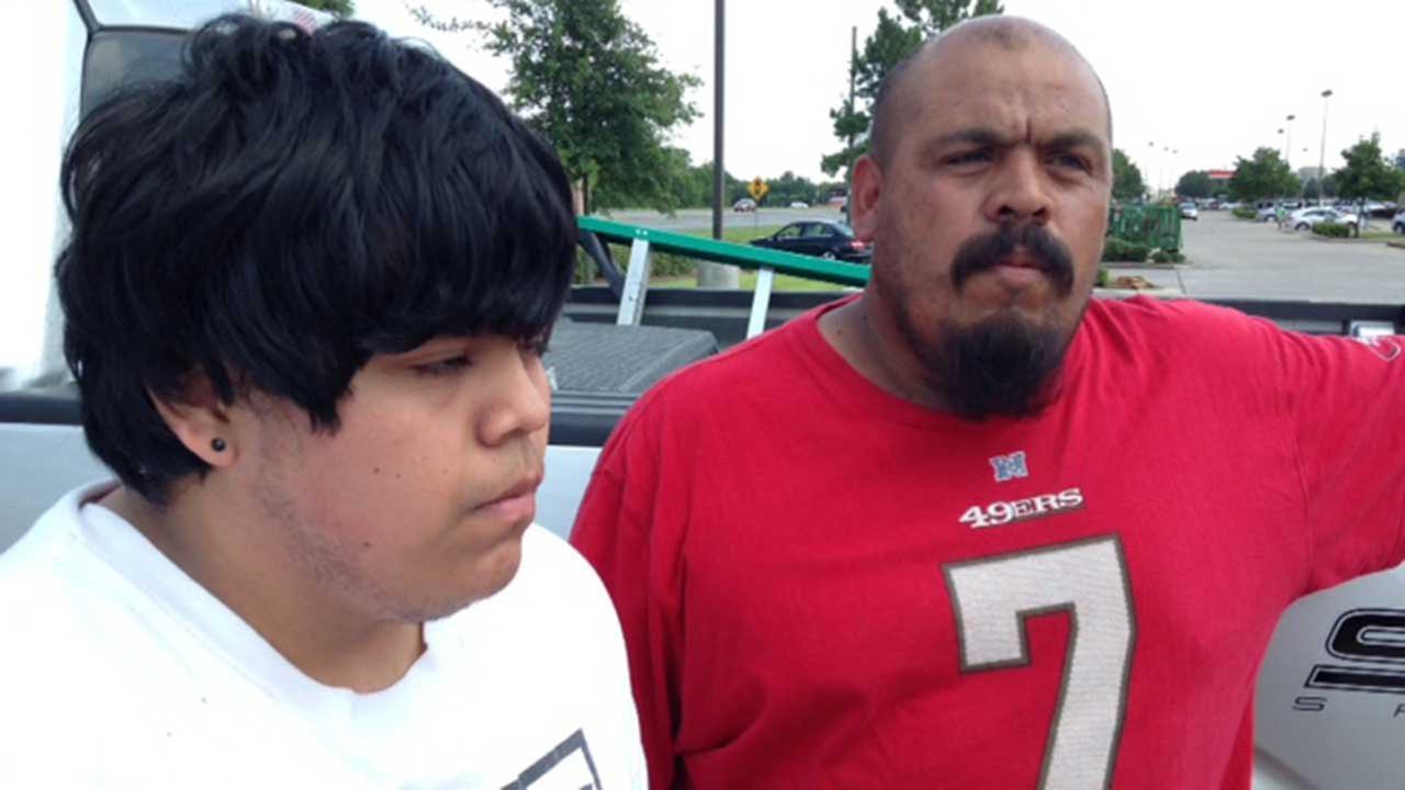 A school employee error nearly kept Angel Ramirez (left) from graduating from Kempner High School
