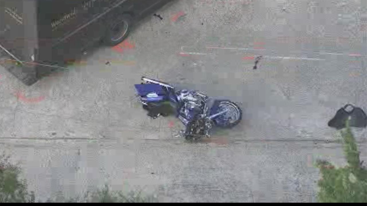 Motorcyclist killed in accident involving UPS truck in N. Harris County