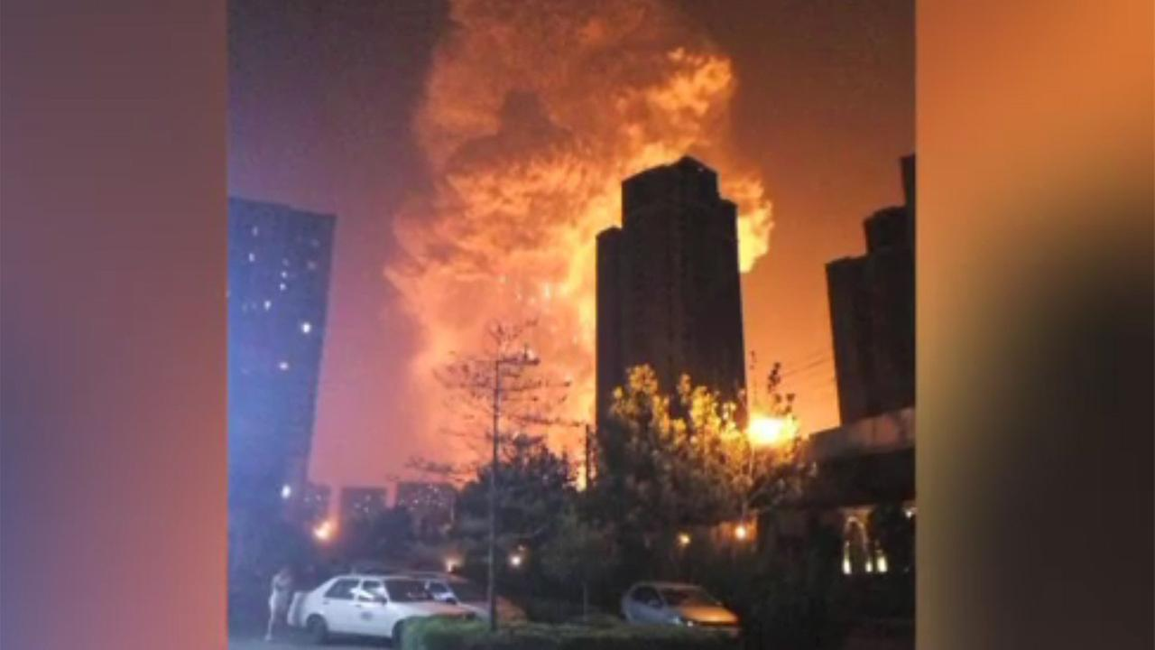 China state media: At least 44 dead in port explosion