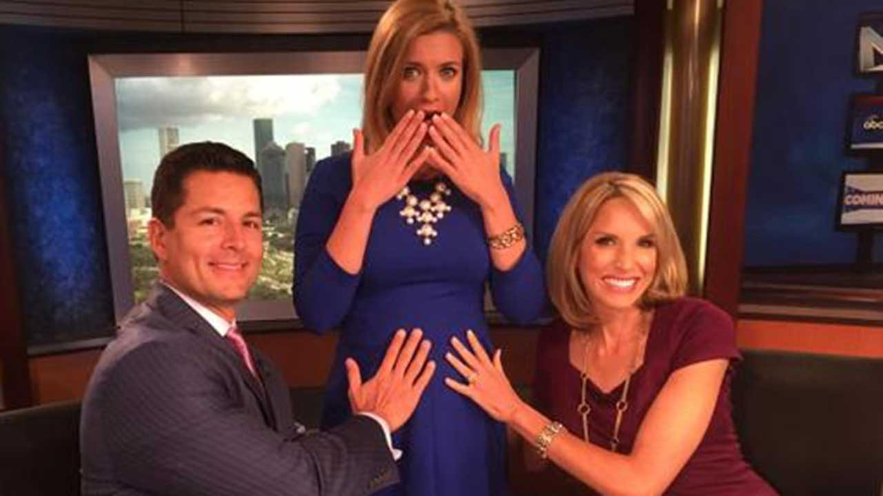 Traffic reporter Rebecca Spera announces big baby news