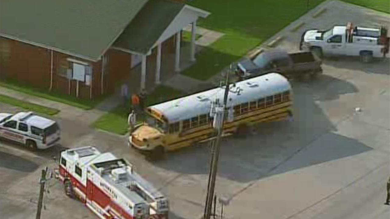 Students transported to hospital after pepper spray discharged on Goose Creek ISD bus