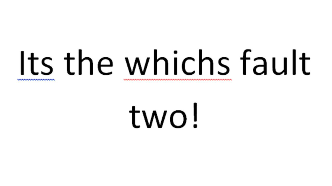 Survey: General LOL most irked by grammar, spelling slips