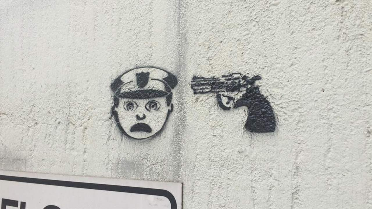 Reward offered to find whoever posted anti-police graffiti around Houston
