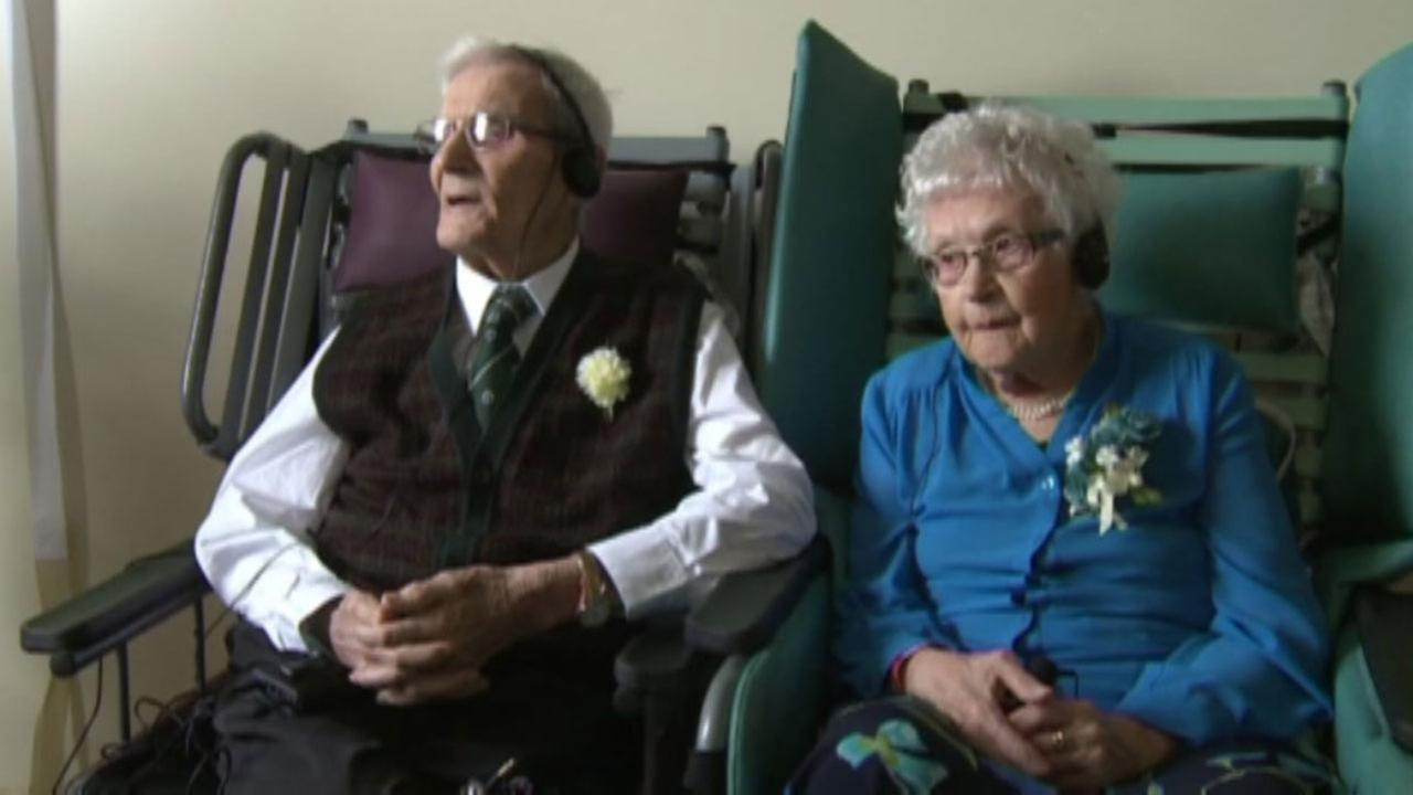 Canadian couple celebrates 80 years of marriage