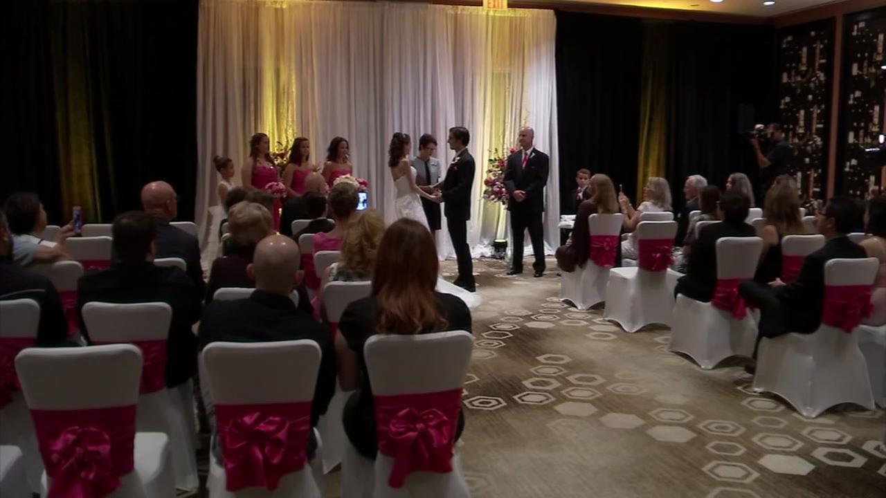 Generous Houstonians give a terminally ill bride the wedding of her dreams
