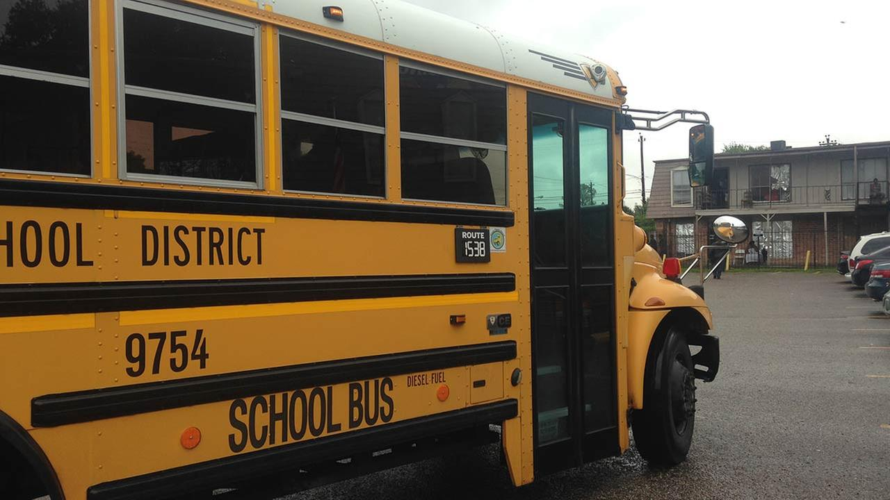 Indiana school bus driver charged with letting students drive the bus