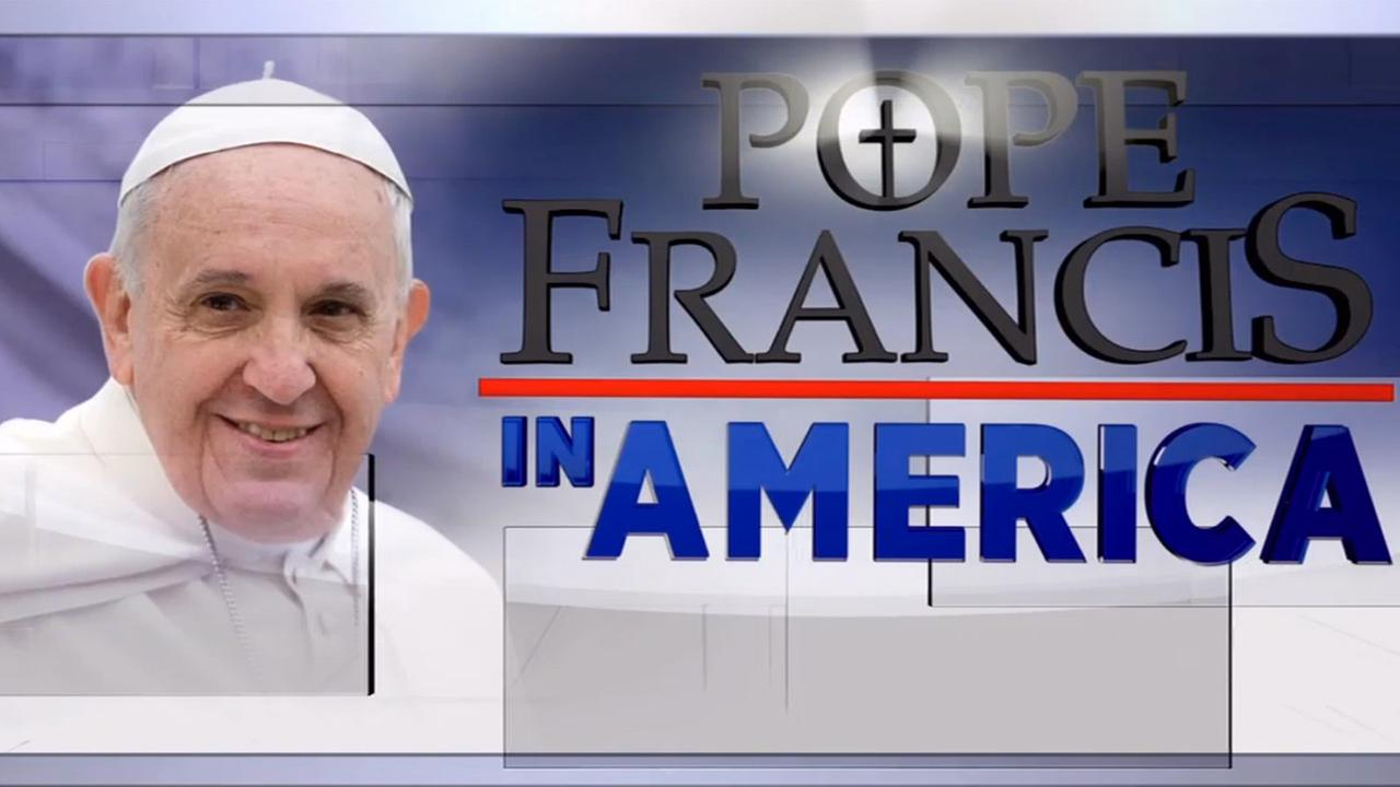 Eyewitness News coverage of Pope Francis' U.S. trip