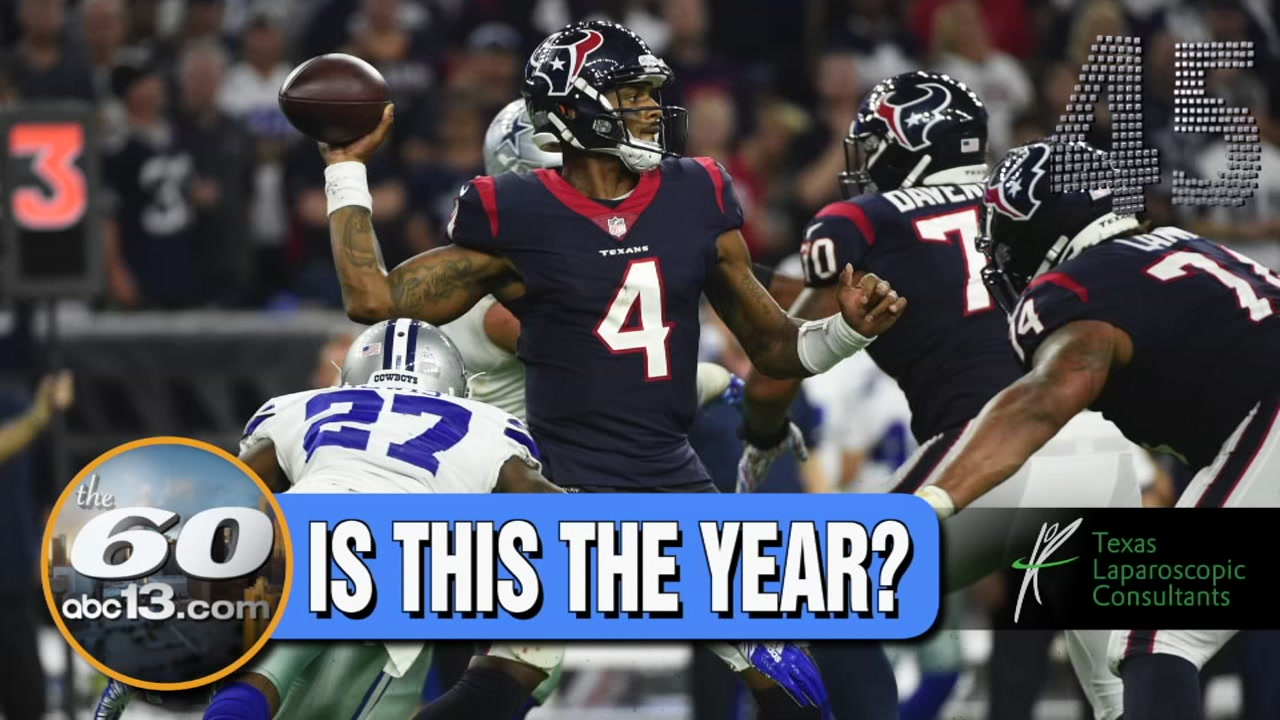 Is it too early to talk Super Bowl for the Texans? See their odds over the Cowboys.
