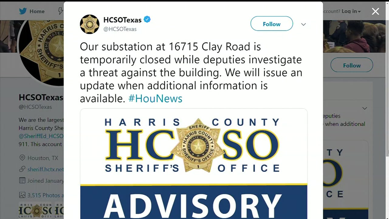 Deputies investigating threat against a building