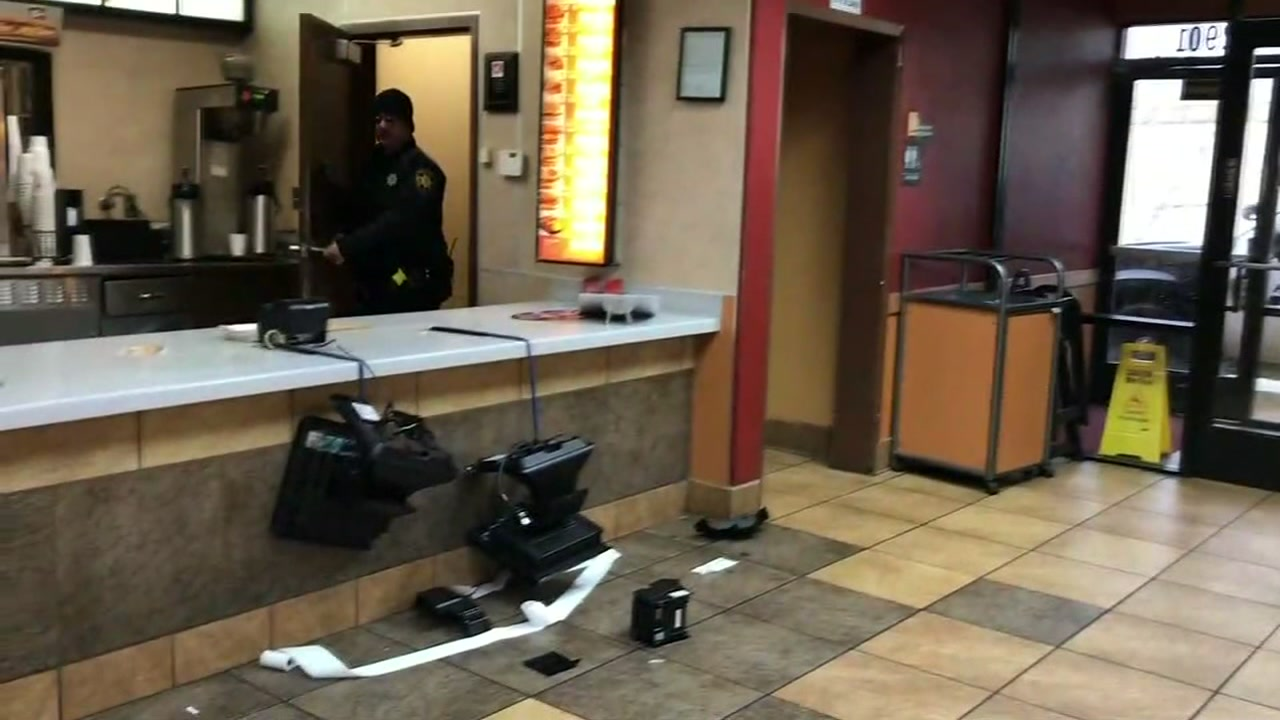 Robbers hit string of restaurants in crime spree