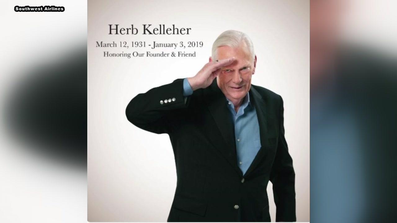 Southwest Airlines founder Herb Kelleher dies at 87