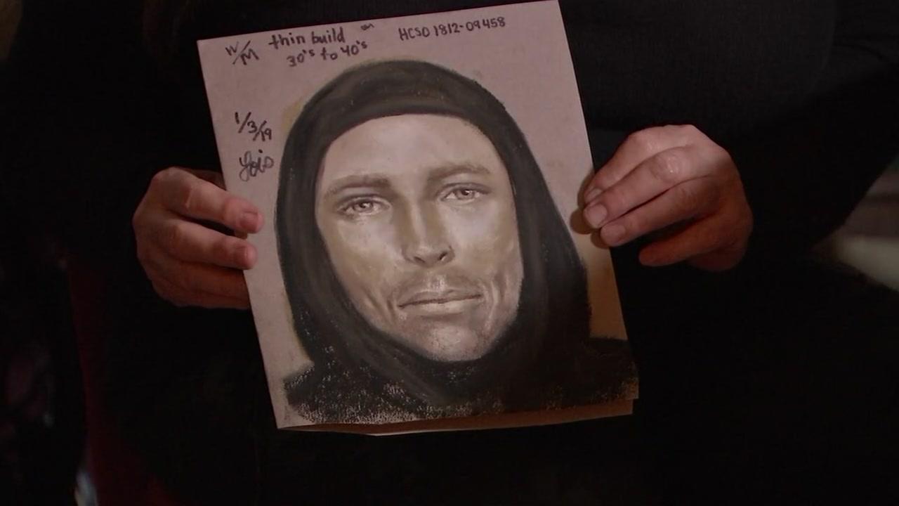 Sketch artist brings description of Jazmines killer to life